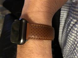 Jørn S. verified customer review of Perforated Leather Band