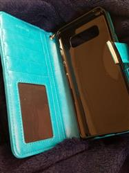 Tara S. verified customer review of Samsung Galaxy Note 8 Wallet Phone Case Flip Cover