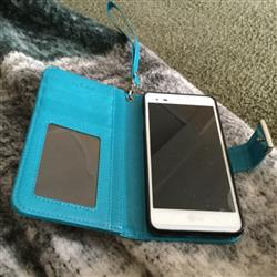 Mary T. verified customer review of Samsung Galaxy Note 8 Wallet Phone Case Flip Cover