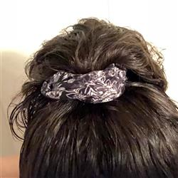 Amy K. verified customer review of White Fern Scrunchie