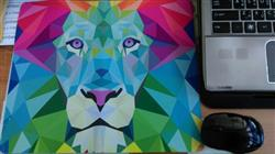 Chris p. verified customer review of Low Poly Lion Mousepad