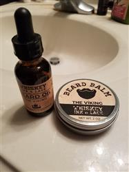 Preston K. verified customer review of The Viking Beard Balm