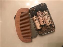 Chelsea C. verified customer review of Wooden Beard Comb