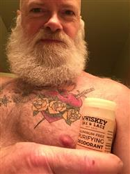 Bryan A. verified customer review of The Outlaw Natural Deodorant
