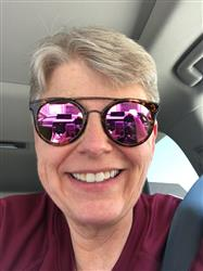 Brenda P. verified customer review of ASTRO - TORTOISE + PINK MIRROR + POLARIZED