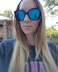 Erin L. verified customer review of RUBY - GOLD TORTOISE + PINK MIRROR + POLARIZED