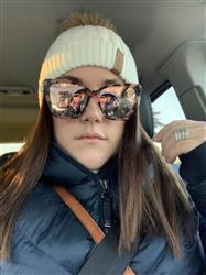 Kennedy Y. verified customer review of BECKY II - HIMALAYAN TORTOISE + TAUPE FLASH MIRROR POLARIZED