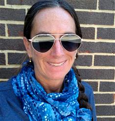 Laura L. verified customer review of SCOUT - LIGHT GUNMETAL + ICE BLUE MIRROR + POLARIZED