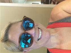 LeaAnne C. verified customer review of COSMO - BLACK + DARK SMOKE + POLARIZED