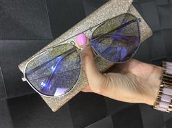 NALLELY O. verified customer review of JESSIE JAMES DECKER - DASH + BRUSHED SILVER + PURPLE FLASH POLARIZED