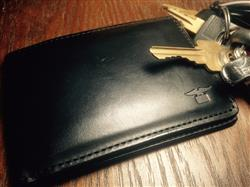 Joe H. verified customer review of Black Bi-fold Wallet