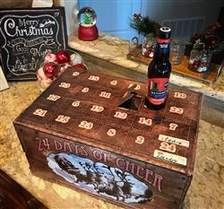 Leandra C. verified customer review of Vintage Crate Advent Calendar