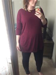 Cana M. verified customer review of Black PIKO 3/4 Sleeve Tunic