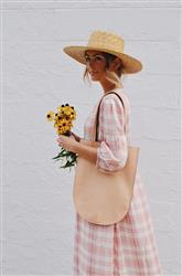 Lauren G. verified customer review of HALF MOON <br/> <i> double sided tote </i>