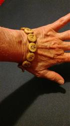 Debbie B. verified customer review of Om Mani Padme Hum Bracelet