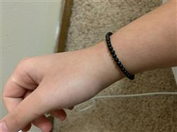 Mataya L. verified customer review of Black Tourmaline Mini Gemstone Energy Bracelet