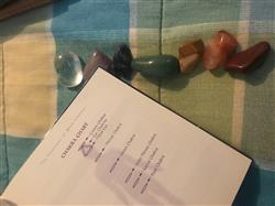 Janeth M. verified customer review of Chakra Pocket Stones - Set of 7