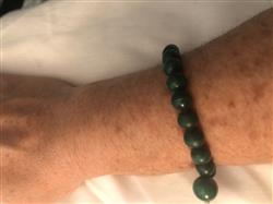 vivian l. verified customer review of High-Energy Malachite Power Bracelet
