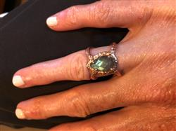 Kimberlee F. verified customer review of Mystic Labradorite Ring