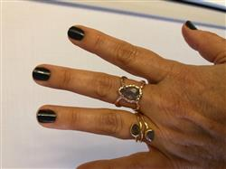 Jeanne C. verified customer review of Mystic Labradorite Ring