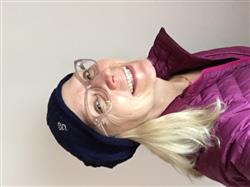 Nan P. verified customer review of Om Slouch Beanie