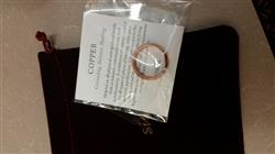 Kendra L. verified customer review of Copper Healing Ring