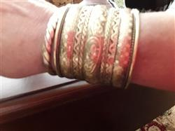 Kathleen S. verified customer review of Indian Brass Cuff