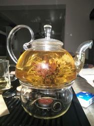 Jodie verified customer review of Natural Flavors of Blooming Flower Tea