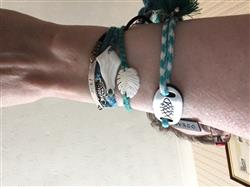 Karen B. verified customer review of Monstera Leaf Bracelet