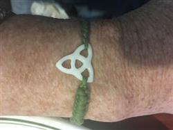 Nancy D. verified customer review of Celtic Knot Bracelet