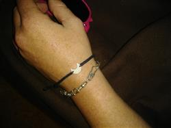 Karah W. verified customer review of Mini Moon Bracelet