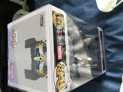 Chris Y. verified customer review of PPJoe Thanos with Throne Pop Protector, Rock Solid Funko Vinyl Protection