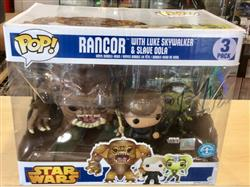 Charlotte G. verified customer review of PPJoe Star Wars 3 Pack Pop Protector (Rancor)