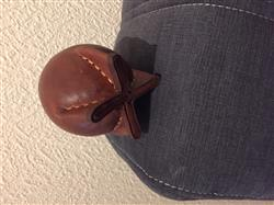 rodeson r. verified customer review of Leather, Metal Rimmed Mate Gourd