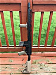 Lukas L. verified customer review of NBS SOPMOD Mil-Spec Adjustable AR-15 Stock w/ Battery Storage - Tan