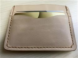 Charles Winata verified customer review of Driftwood Flat Wallet