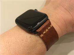 Mark M. verified customer review of Apple Watch Strap - English Tan Dublin