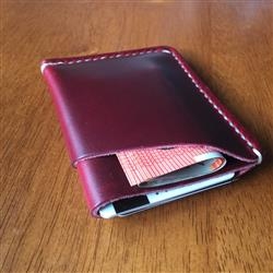 Lukus verified customer review of Cherry Leather Card Holder