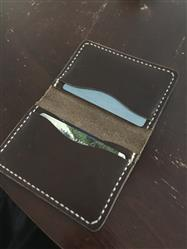 Chocolate 5 Card Leather Wallet