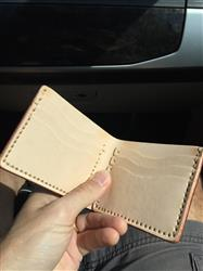 Nick verified customer review of Naked Cherry 6 Card Traditional Leather Wallet