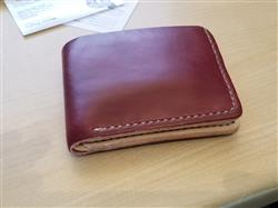 Michael N. verified customer review of Naked Cherry 6 Card Traditional Leather Wallet