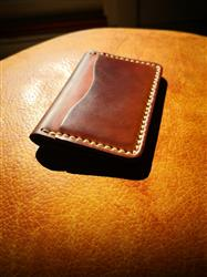 Anonymous verified customer review of 5 Card Wallet - Shell Cordovan Natural
