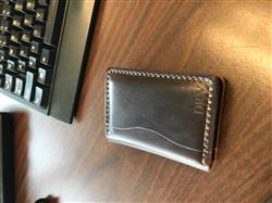Doug W. verified customer review of 5 Card Wallet - Shell Cordovan Color #8