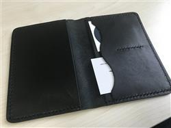 Charles Winata verified customer review of Black Leather Passport Cover