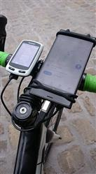 Kevin A. verified customer review of BTR Silicone Handlebar Mobile Phone Mount, Fits all phones and Bikes