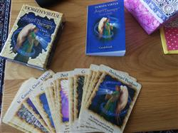 Angela F. verified customer review of Angel Therapy Oracle Cards by Doreen Virtue