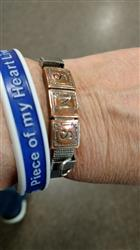 BethBeth S. verified customer review of Wristband - Piece of My Heart Lives In Heaven - www.HeroinMemorial.org - I Hate Heroin