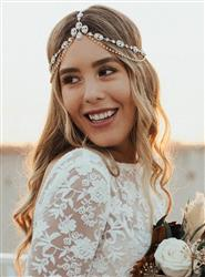 Brianna  verified customer review of Jules Tiered Swarovski Crystal Headpiece
