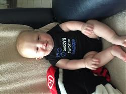 Melody J. verified customer review of Daddy's Favorite Backup  Infant Baby Onesie Bodysuit