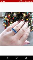 Willie M. verified customer review of Majestic Blue Sapphire Gemstone Ring